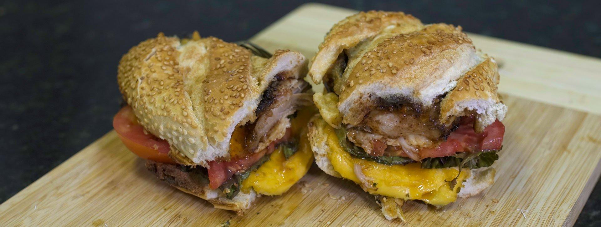 Sanduíche de Churrasco Fácil