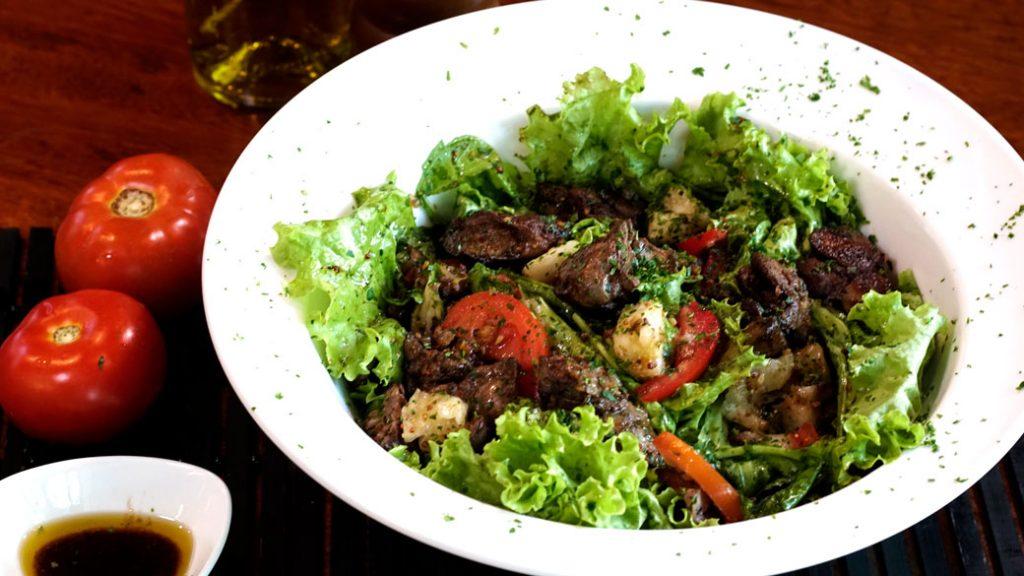 Salada de Fígado